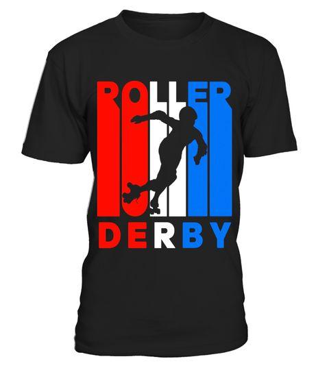 480x540 Retro Rwnb Roller Derby Silhouette T Shirt Special Offer, Not