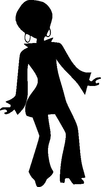 Roller Skate Silhouette Clip Art