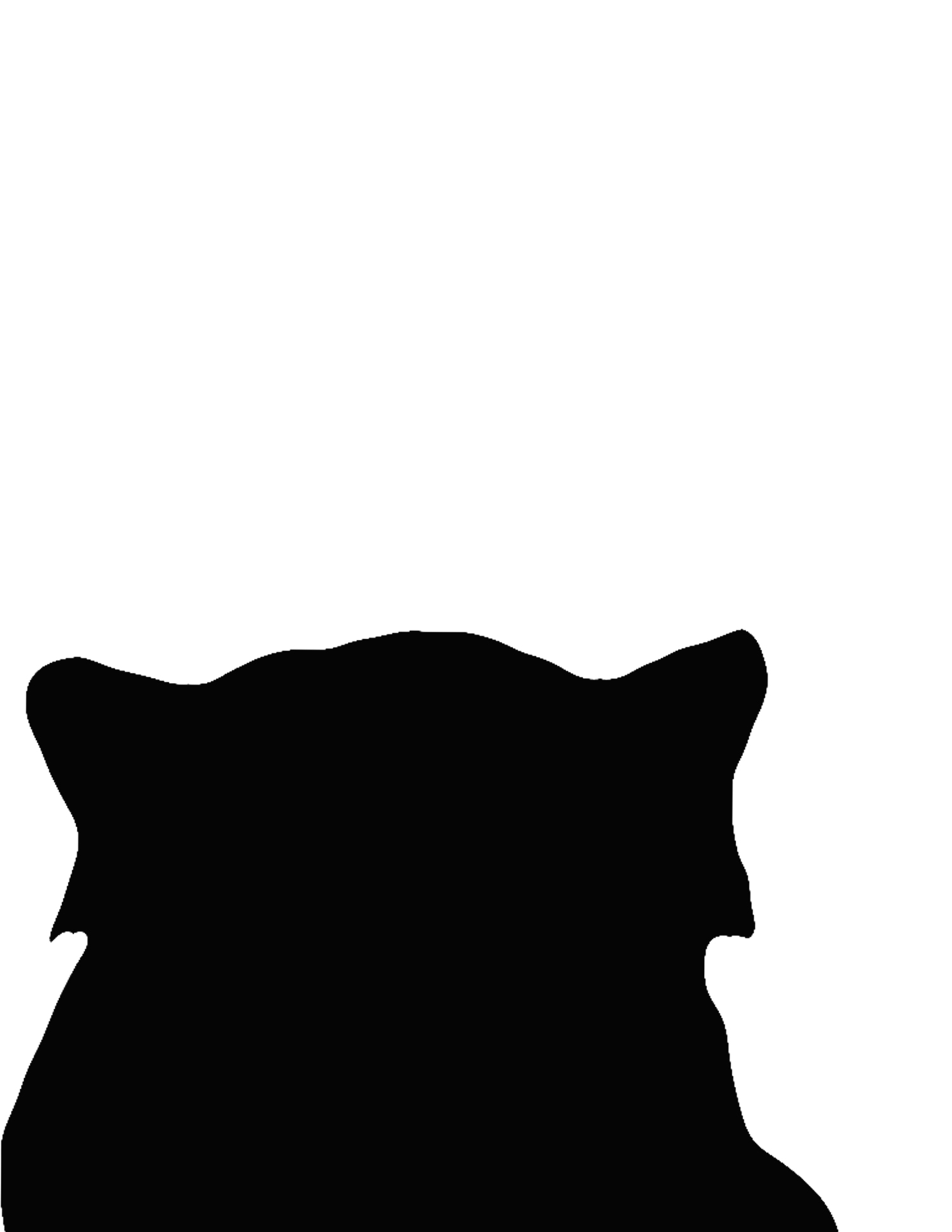 1500x1941 Red Panda Silhouette Photoshop