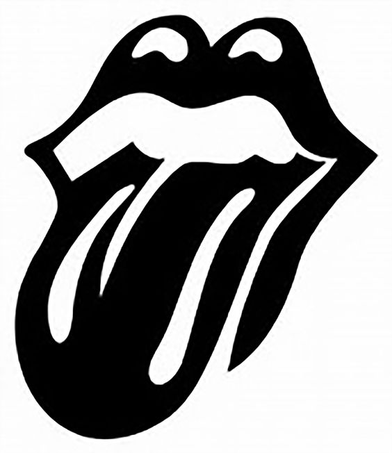 564x652 Rolling Stones Hot Lips Vector Art Dxf File Free Download