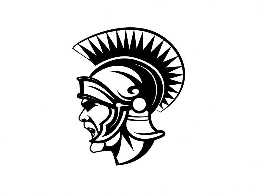 866x650 Roman Gladiator Vector Logo Vector Logos Logos