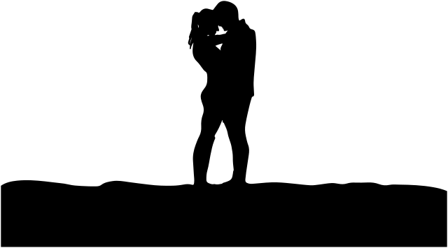640x355 Romantic Couple Silhouette
