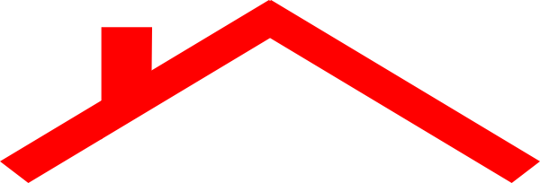 600x204 Roof Of House Clipart