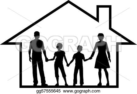 450x309 Roof Clipart Family Under