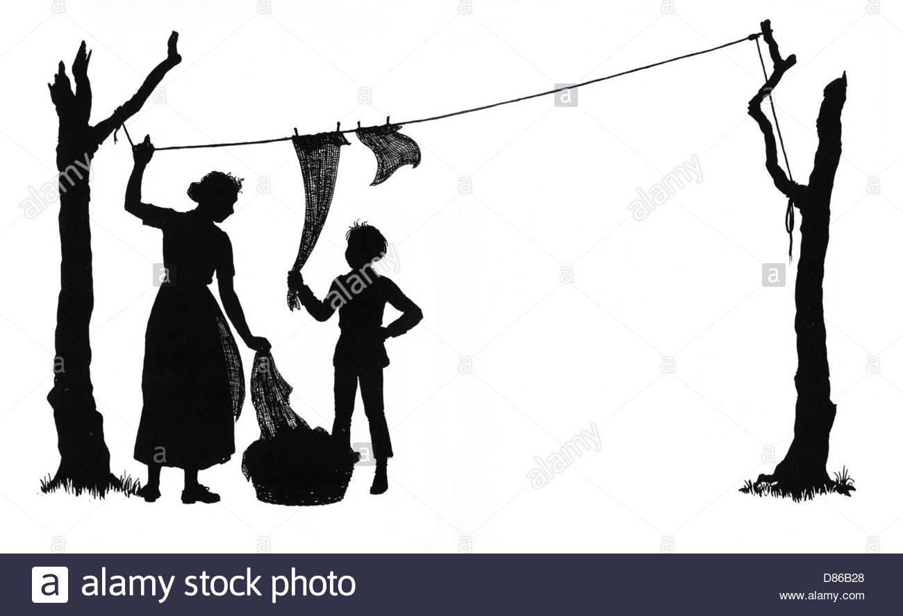 1300x887 Hanging Washing Black And White Stock Photos Amp Images