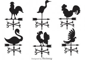 285x200 Weather Vane Silhouette Free Vector Graphic Art Free Download
