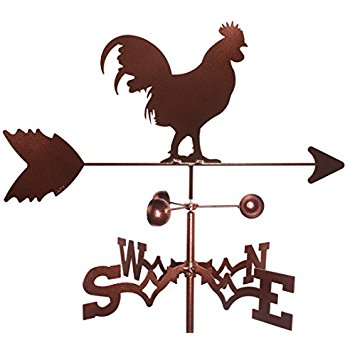 350x350 Handy Home Products Rooster Weathervane, Small