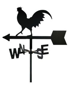 231x288 Rooster Weathervane