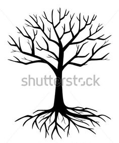 236x283 Tree Silhouette Without Leaf Vector 1274714