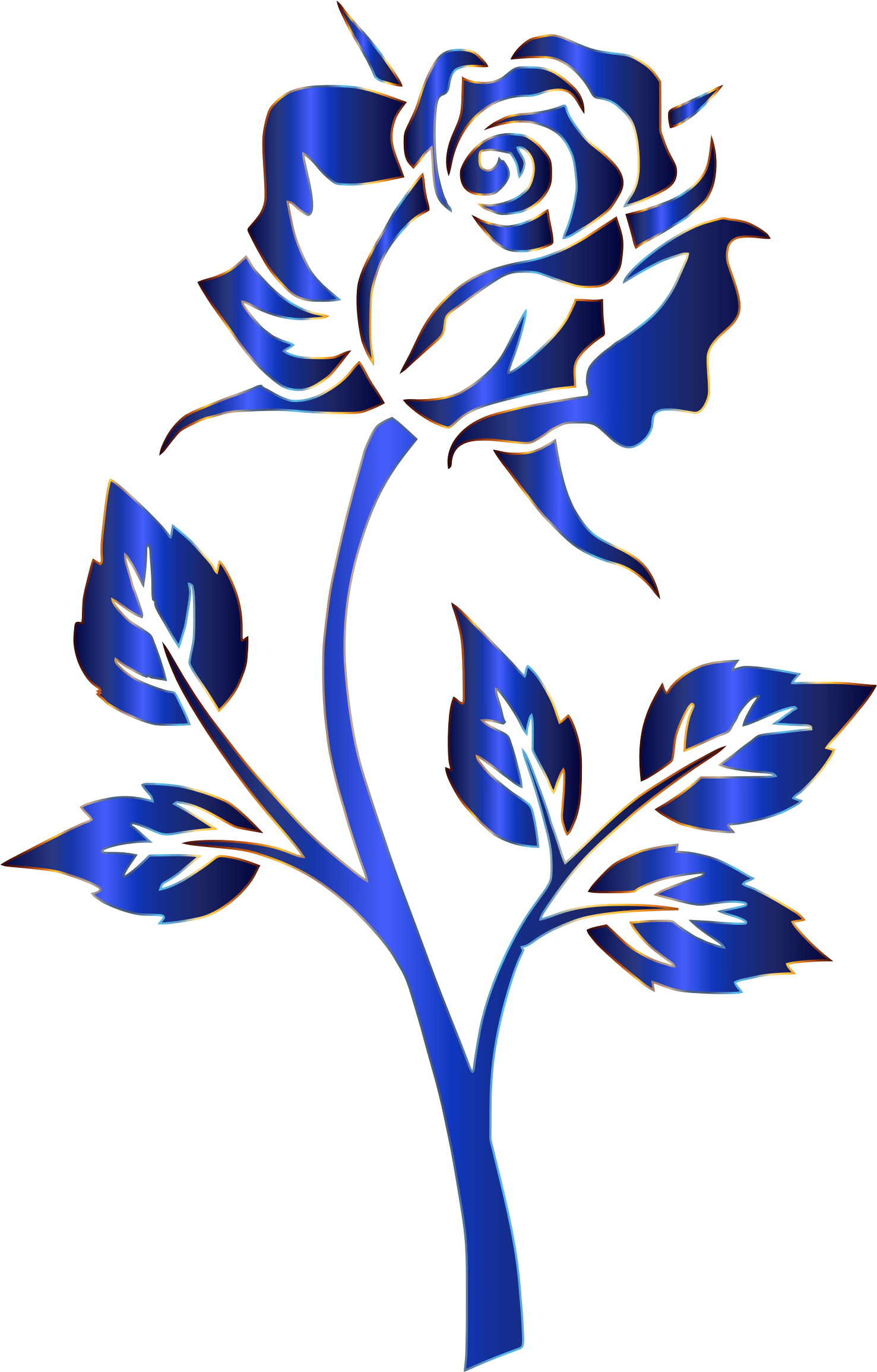 Rose Silhouette Clip Art at GetDrawings   Free download
