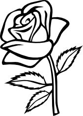 169x236 Rose Bud.png Paterns Rose, Stenciling And Wood Burning
