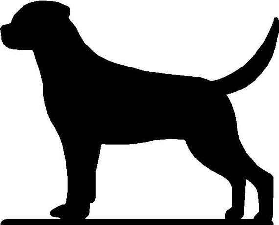 rottweiler silhouette clip art at getdrawings com free for rh getdrawings com rottweiler clipart black and white rottweiler clipart png