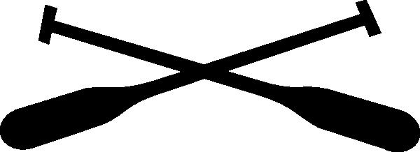 600x218 Rowing Oar Clip Art