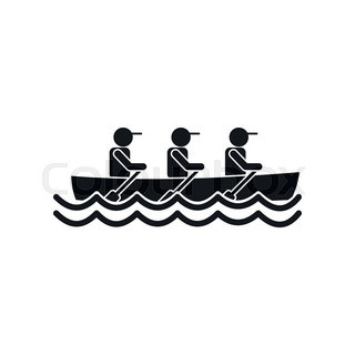 320x320 Rowing Silhouettes