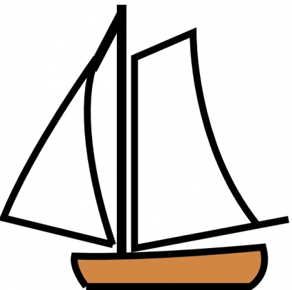 425x422 Sailing Boat Silhouette Clip Art Vector, Free Vector Images