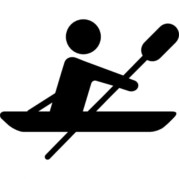 626x626 Paralympic Rowing Silhouette Icons Free Download