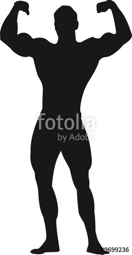 260x500 Bodybuilder Silhouette Stock Image And Royalty Free Vector Files