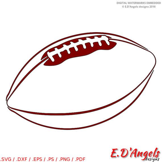 570x570 Football Svg Football Clip Art Football Silhouette Svg