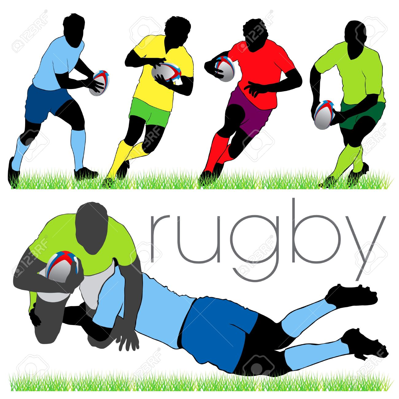 1300x1300 Rugby Scrum Clipart Amp Rugby Scrum Clip Art Images