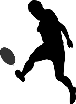 249x340 Free Silhouette Vector Athlete