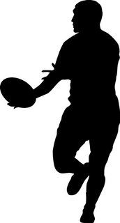 172x320 Rugby Player Silhouette Rugby Rugby Players, Rugby