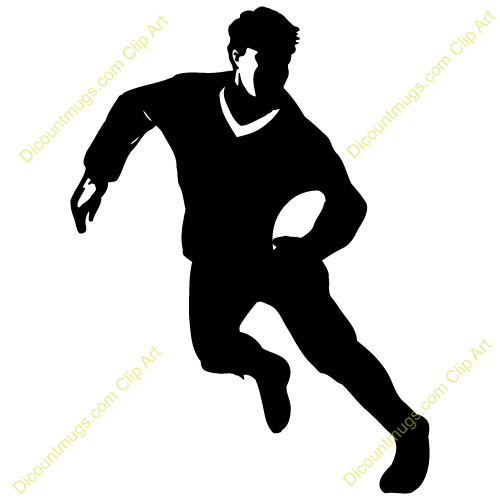 500x500 Rugby Player Clipart 5 Clipart Station