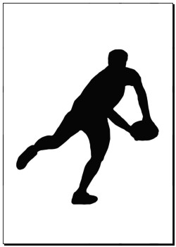 250x350 Posters Of Sport Silhouette