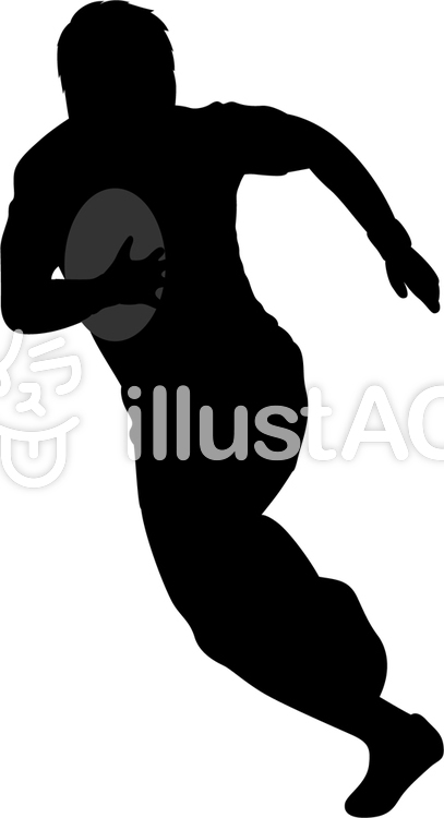 407x750 Free Cliparts Silhouette, Rugby