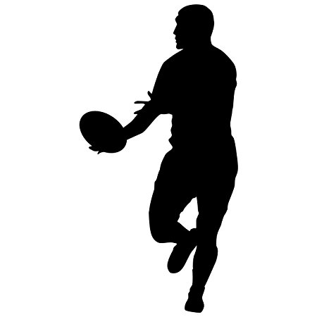 450x450 Rugby Wall Decal Sticker 9