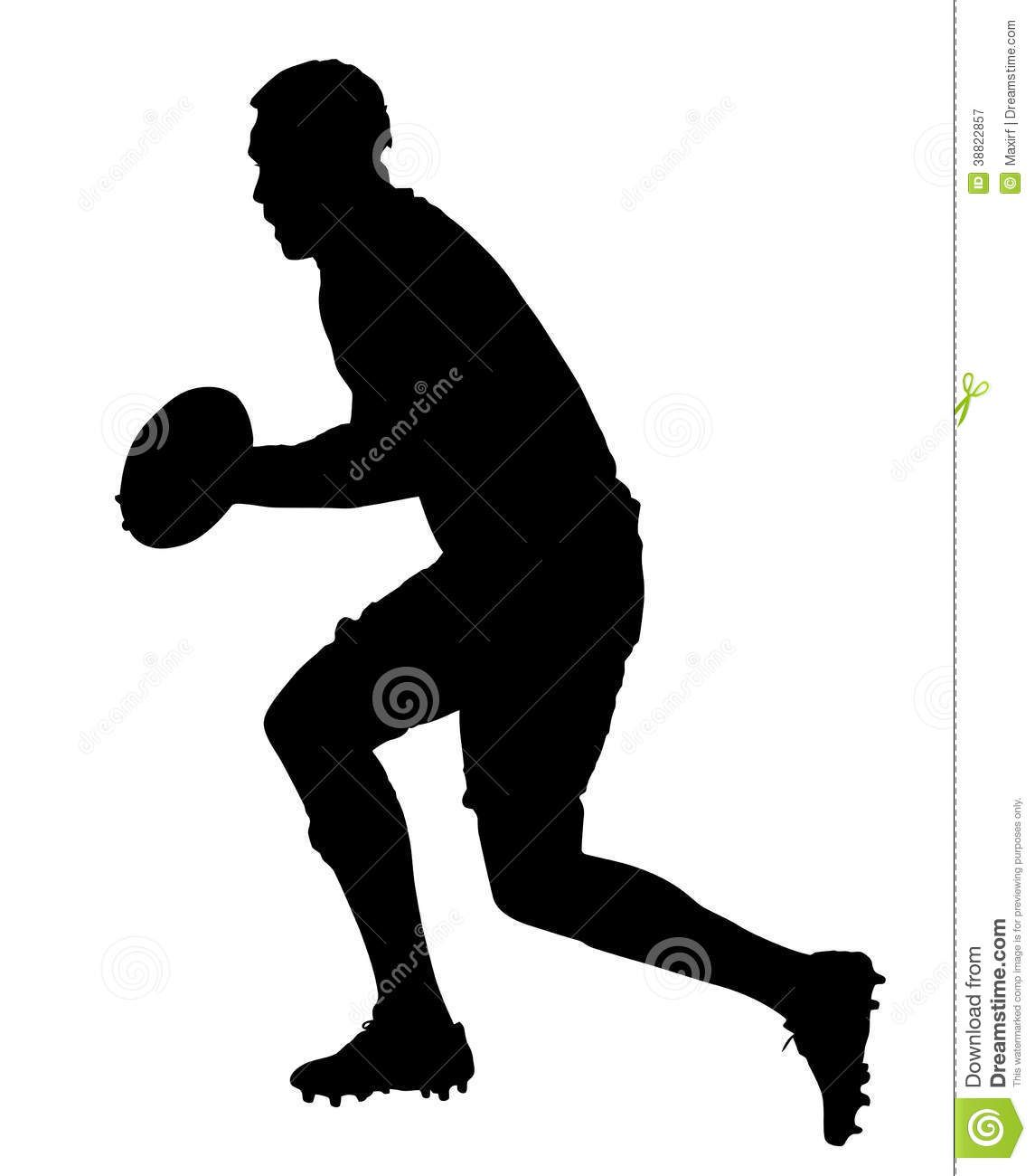 1145x1300 All Black Rugby Silouette