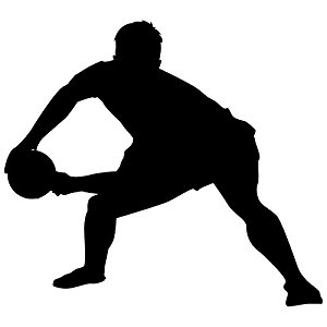 300x300 Rugby Wall Decal Sticker 7