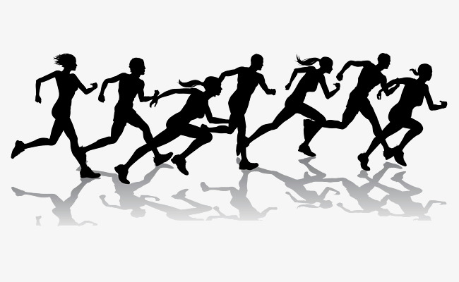 650x400 Runner, Cartoon Hand Drawing, Run, Marathon Png Image And Clipart