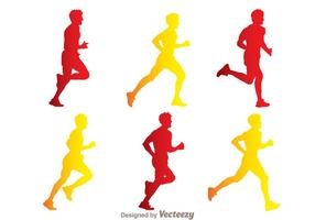286x200 Runner Free Vector Art