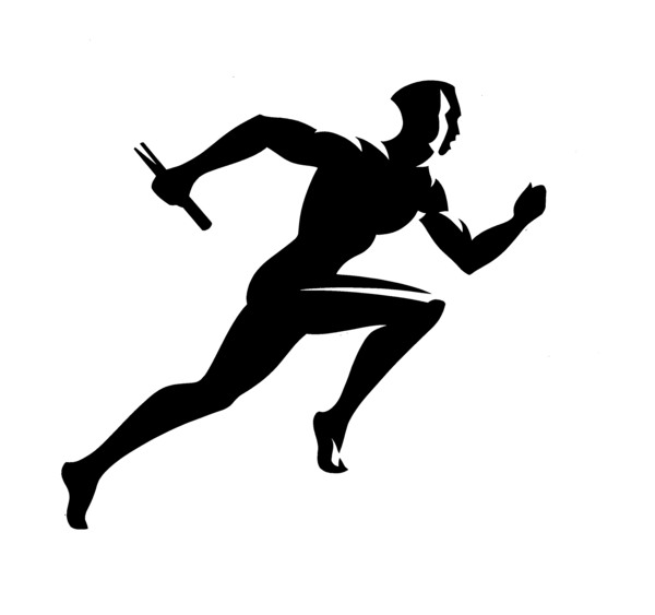 600x563 9502518 Silhouettes Girl Running On The Treadmill Vector