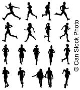 159x179 Runners Silhouette Vector Clip Art Eps Images. 8,231 Runners