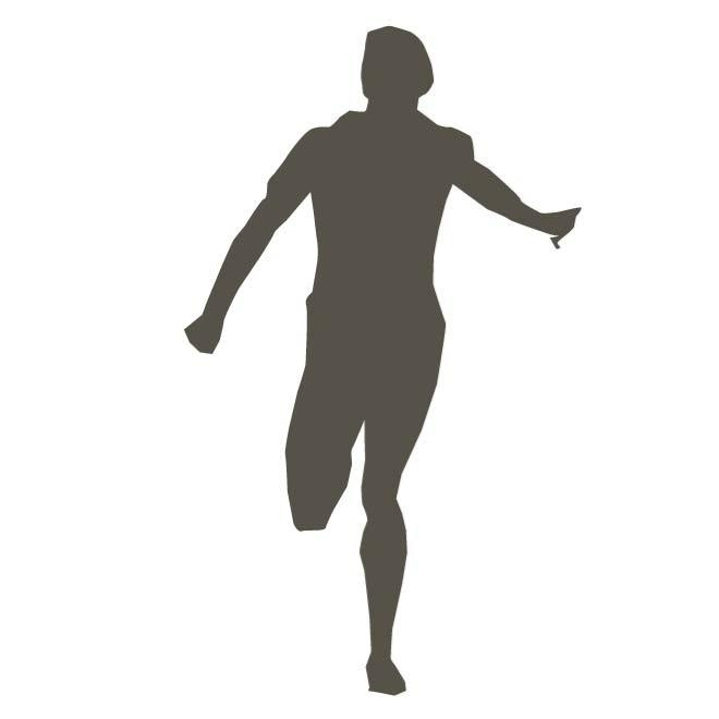 660x660 Silhouette Of A Runner