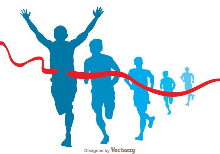 700x490 Marathon Runner Vector
