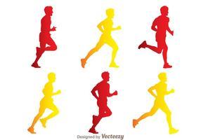 286x200 Runner Free Vector Art