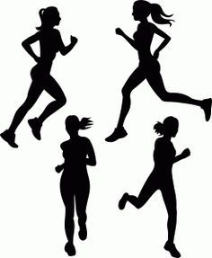 236x287 Athletics Silhouette Vector Sports Running Graphics Silhouette