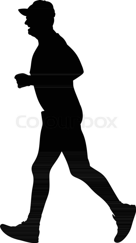 449x800 List Of Synonyms And Antonyms Of The Word Runner Silhouette