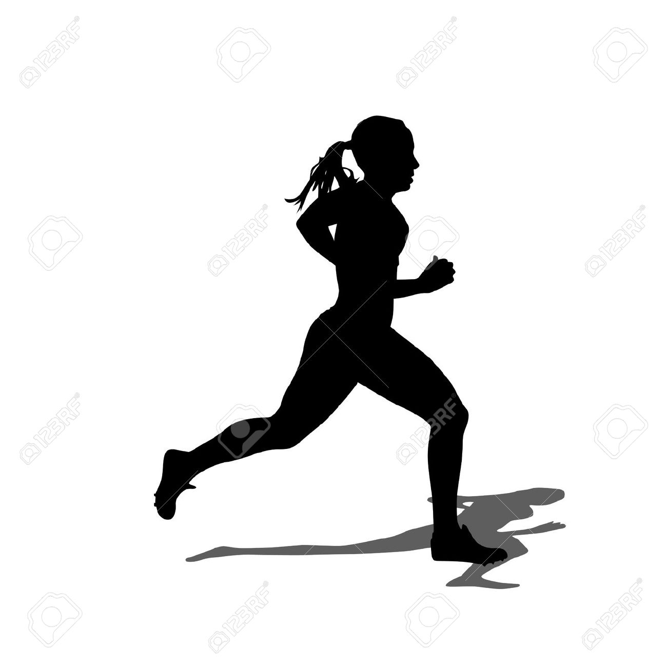 1300x1300 Marathon Runner Silhouette Images, Stock Pictures, Royalty Free
