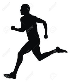 236x273 Free Vector Runner Silhouettes