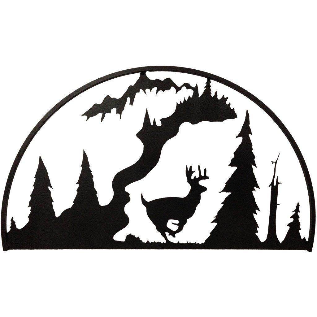 1024x1024 Running Deer Hoop 7055 Inc