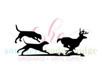340x270 Walker Dogs Running Deer Svg Design Svg File Svg Design