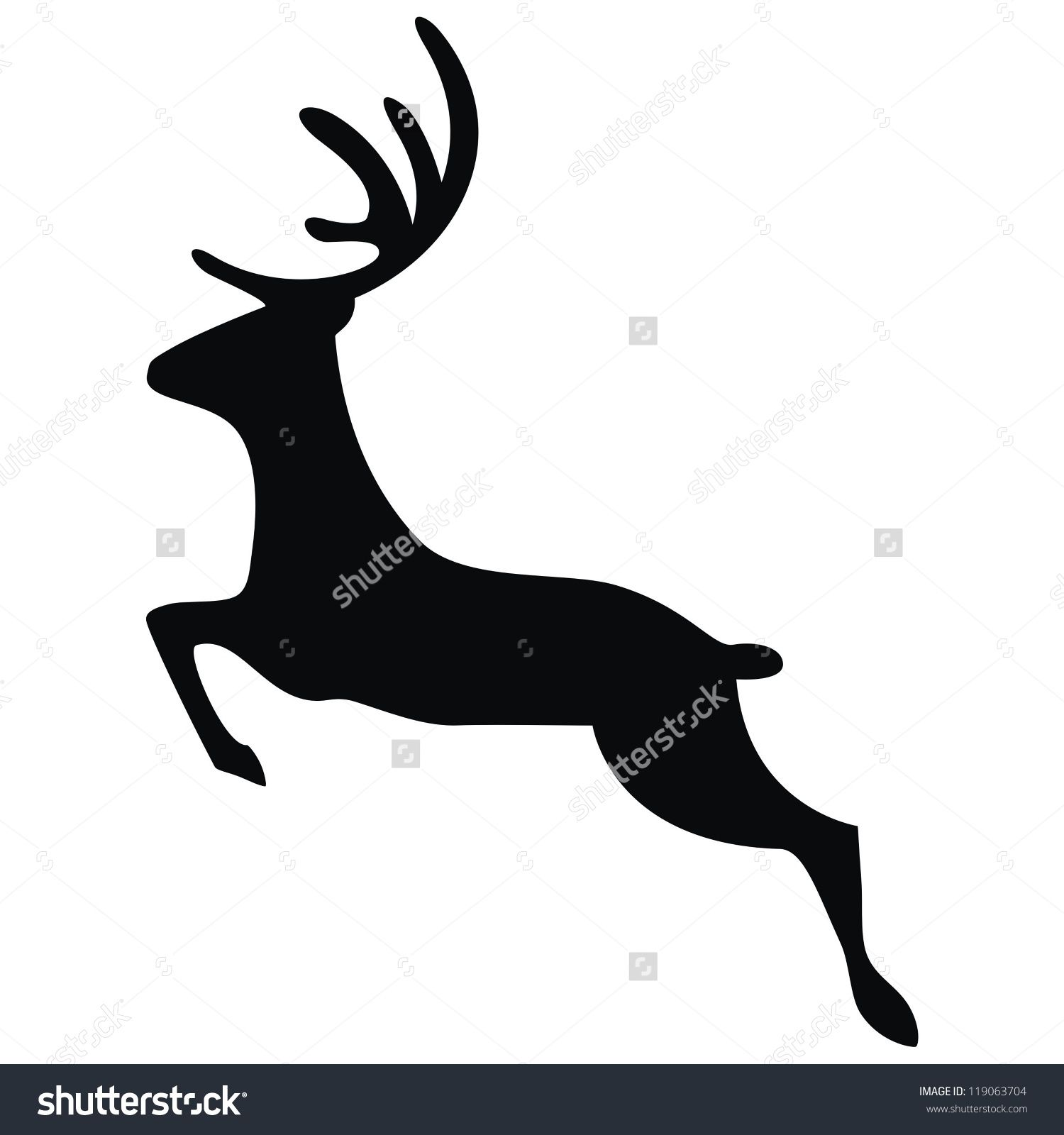 1500x1600 Vector Running Deer Brother Scan N Cut 2 Image