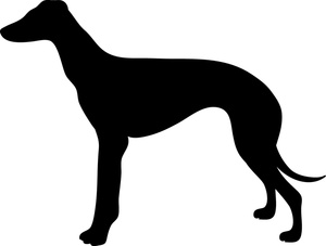 300x227 Greyhound Dog Clipart
