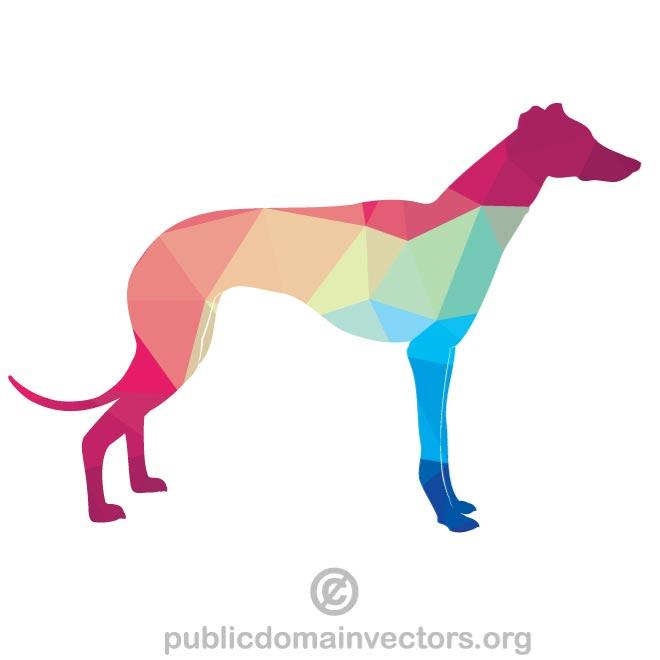 660x660 Greyhound Silhouette Vector