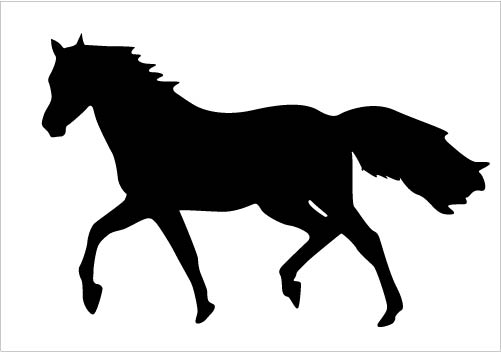 501x352 Vector Clipart Horse