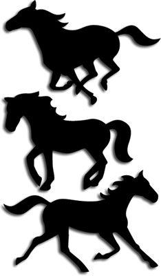 234x400 Running Horses