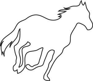 running horse silhouette clip art at getdrawings com free for rh getdrawings com